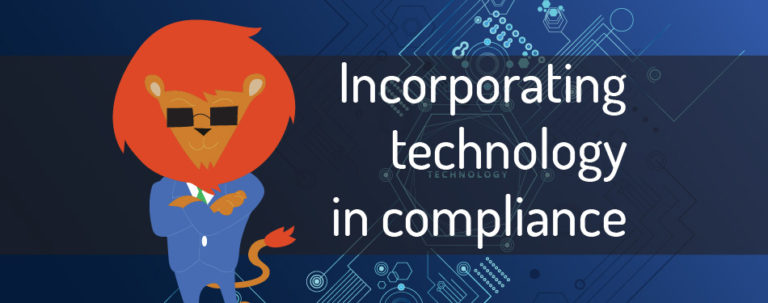 Incorporating technology in compliance